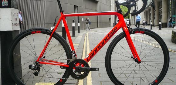 dcc2312e081 Cannondale Supersix EVO Hi-Mod Red eTap complete bike, £6,399.00. Back to  Build Gallery