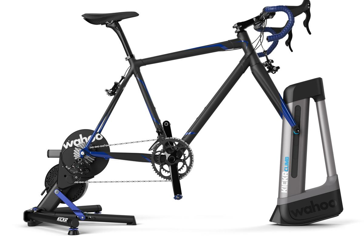Wahoo ramps up new Kickr Climb smart trainer with climbing mode
